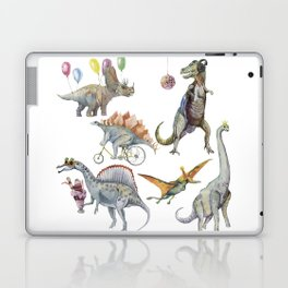 PARTY OF DINOSAURS Laptop & iPad Skin