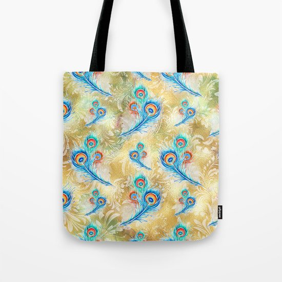 Feather peacock #16 Tote Bag