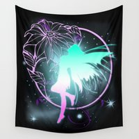 fairy Wall Tapestries featuring Fairy by Augustinet