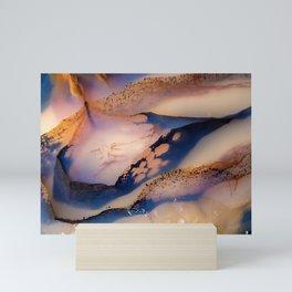 October Agate Mini Art Print