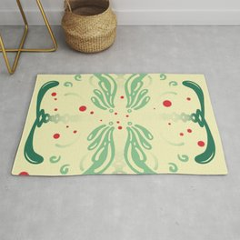 Pattern, wallpaper, forme, colori, flowers Rug