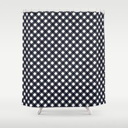 Gingham - Good Night Shower Curtain