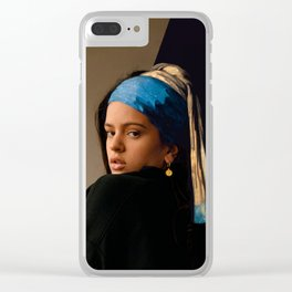 Pienso En Tu Mirada Clear iPhone Case