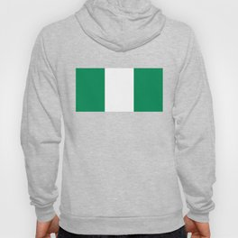 Flag of Nigeria - Authentic High Quality image Hoody