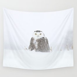 White on white Wall Tapestry