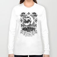 anarchy Long Sleeve T-shirts featuring Anarchy scream by Tshirt-Factory
