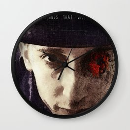 Character.Wounds. Wall Clock