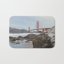 Golden Gate Bridge Bath Mat