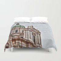 italy Duvet Covers featuring Italy by LaiaDivolsPhotography