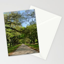 The Avenue of Oaks Stationery Cards