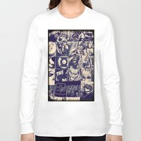 comic Long Sleeve T-shirts featuring Comic Land by Ewan Arnolda