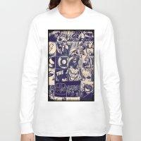 comic Long Sleeve T-shirts featuring Comic Land by Ewan Arnolda