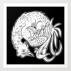 Rooster Print Art Print