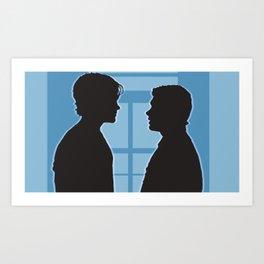 Pilot Supernatural (Silhouette Collection) Art Print