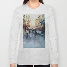 PARIS Street - Painting Long Sleeve T-shirt