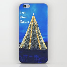 Love. Piece. Believe. iPhone Skin