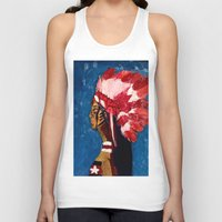 native american Tank Tops featuring Native American by Ksuhappy
