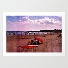 ogunquit beach Art Print