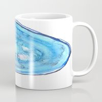 agate Mugs featuring Agate by sadiesavestheday