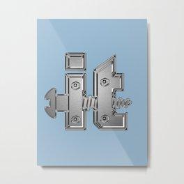 Screw It Metal Print