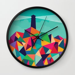 I'll be your lighthouse if you'll be my sea Wall Clock