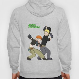 Anna and Kristoff as Kim Possible and Ron Stoppable Hoody