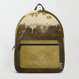 Berlin Germany Skyline Backpack