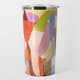 Movement of Vaulted Chambers by Paul Klee, 1915 Travel Mug