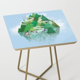 Mysterious Island Side Table
