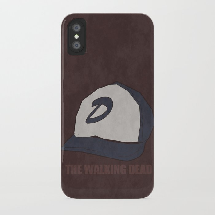 511f2dae734 The Walking Dead game  Clementine s hat iPhone Case by rebekhaart ...