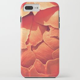 Coral Peony iPhone Case