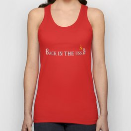 Back in the USSR Unisex Tank Top