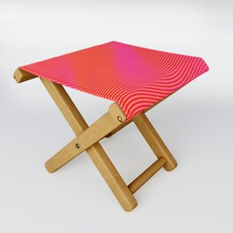 Fancy Curves Folding Stool