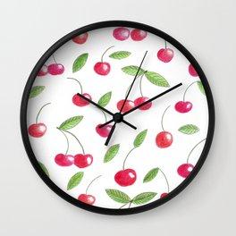 Cherry dream Wall Clock