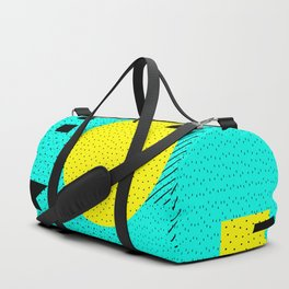 Hello Memphis Lemon Splash Duffle Bag