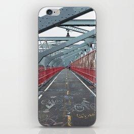 Williamsburg Bridge iPhone Skin