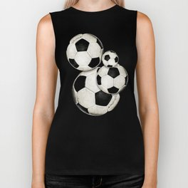 Dirty Balls - footballs Biker Tank
