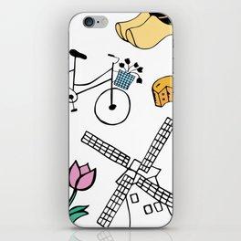 Amsterdam Love iPhone Skin