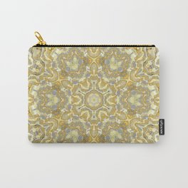 Orange and Yellow Kaleidoscope 1 Carry-All Pouch