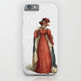 Pride & Prejudice iPhone Case