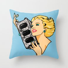 All Desires Turn to Concrete - American Oddities #1 Throw Pillow