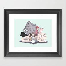Neverending Plushies Framed Art Print