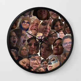 Emily's Face Wall Clock