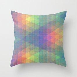 Diamond Spectrum Throw Pillow
