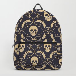 Happy halloween skull pattern Backpack