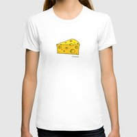 cheese T-shirts featuring Cheese by Studio14