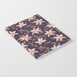 Lilies Pattern Notebook