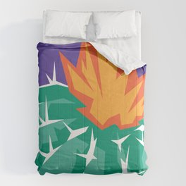 Another Graphic Cactus Comforters