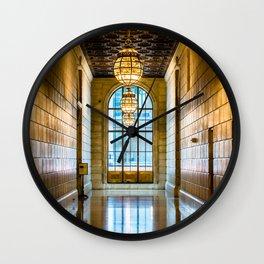 Corridor Wall Clock