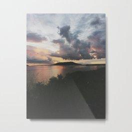 Sunset on Nacula Island, Fiji Metal Print